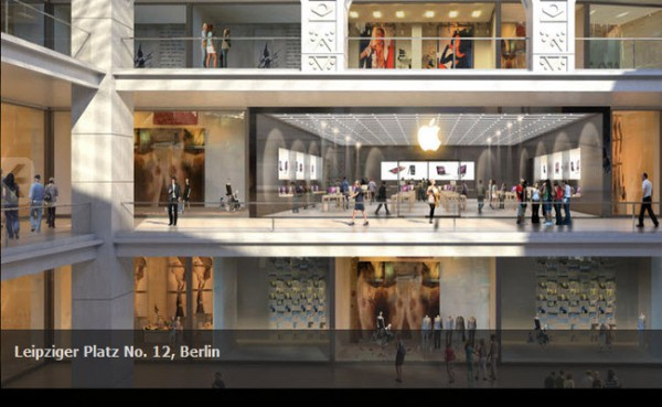 Gerchte ber weiteren Apple Store in Berlin: Nhe Potsdamer Platz