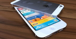 iphone 5 weiss rendering