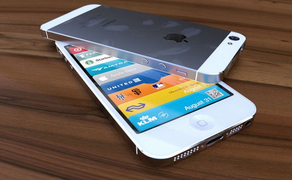 iPhone 5: neues Rendering zeigt weies Modell