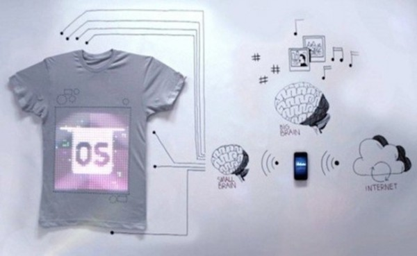 T-Shirt OS: Interaktives T-Shirt mit iPhone steuern  – Video