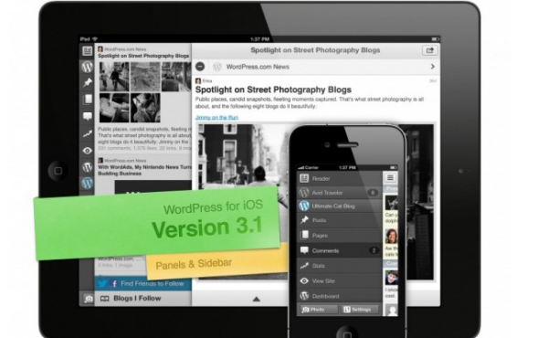 WordPress: iOS-App erhlt groes Update