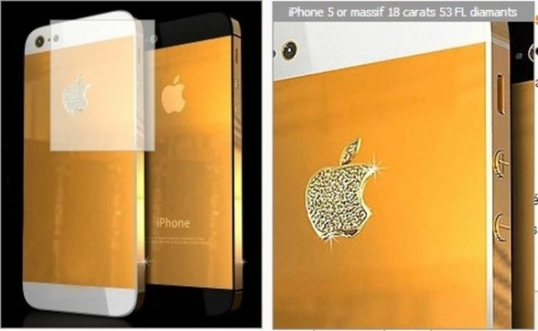 iPhone 5: Luxus-Modelle mit Gold, Diamanten oder Platin gefllig?