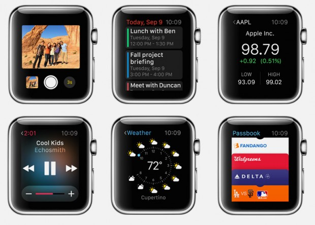 Apple Watch Glances