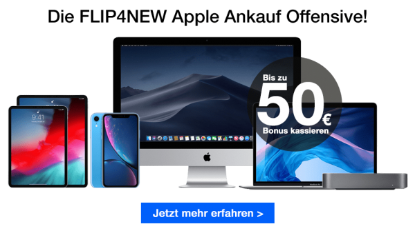FLIP4NEW Apple Ankauf Offensive 2018